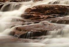 Cascada en Muddy Creek cerca de Albright WV Imagen de archivo