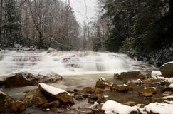 Cascada en Muddy Creek cerca de Albright WV Fotografía de archivo libre de regalías