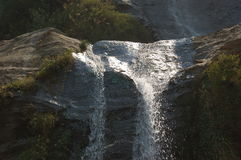 Cascada en Nepal Foto de archivo libre de regalías