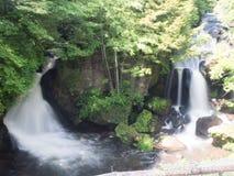Cascada en Niko, Japón imagenes de archivo