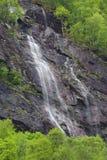 Cascada en Noruega foto de archivo libre de regalías