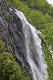Cascada en Noruega fotografía de archivo libre de regalías