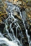 Cascada en Ontario norteño, Canadá Fotografía de archivo libre de regalías