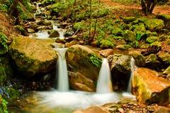 Cascada en parque del condado de Uvas Imagen de archivo libre de regalías