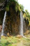 Cascada en parque del plitvice Imagenes de archivo