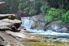 Cascada en parque nacional Imágenes de archivo libres de regalías