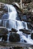 Cascada en parque nacional ahumado Fotografía de archivo