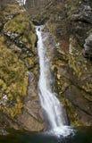 Cascada en Pekel, Eslovenia Imagen de archivo libre de regalías