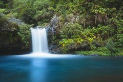 Cascada en Reunion Island imágenes de archivo libres de regalías