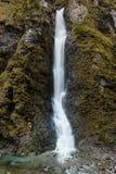 Cascada en rocas Fotografía de archivo