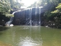 Cascada en Sri Lanka Fotografía de archivo libre de regalías