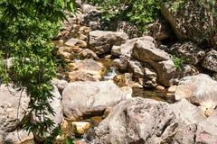 Cascada en Turquía en las montañas de Taunus cerca de Antalya Imagen de archivo libre de regalías