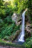 Cascada fantástica en el parque de Lillafured foto de archivo libre de regalías