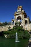Cascada Fountain, Barcelona Stock Photos