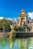 Cascada Fountain - Ciutadella Park,Barcelona,Spain. The Cascada Fountain - Parc de la Ciutadella, Barcelona, Catalonia, Spain, Europe Stock Photo