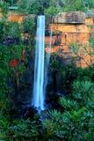 Cascada gigante en la alta resolución Fotografía de archivo