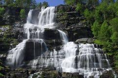 Cascada grande Imagen de archivo