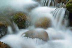 Cascada grande de la cala Imagen de archivo libre de regalías