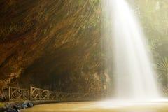 Cascada hermosa Fotografía de archivo libre de regalías
