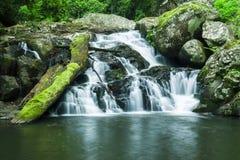 Cascada hermosa Fotografía de archivo