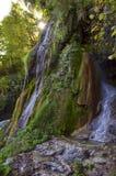 Cascada hermosa de las montañas rumanas fotografía de archivo libre de regalías