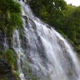 Cascada hermosa en momsoon Imagen de archivo libre de regalías