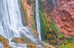 Cascada hermosa en Ouzoud, Azilal, Marruecos Atlas magnífico fotos de archivo libres de regalías