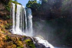 Cascada hermosa grande Imagen de archivo libre de regalías