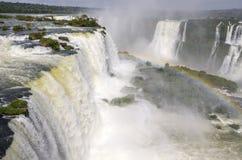 Cascada Iguacu Foto de archivo libre de regalías