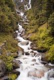 Cascada Imagen del color Imagen de archivo