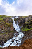 Cascada islandesa Fotografía de archivo libre de regalías