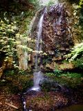 Cascada japonesa Fotografía de archivo libre de regalías