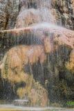 Cascada Jordania de las aguas termales de Ma'in Imágenes de archivo libres de regalías