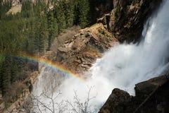 Cascada Krimml de la montaña Fotografía de archivo