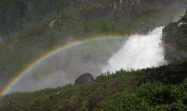 Cascada Latefossen Imagenes de archivo