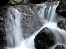 Cascada lechosa Fotos de archivo