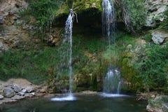 Cascada Lisine, Serbia Imagen de archivo