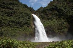 Cascada Magica vattenfall, Ecuador Royaltyfria Foton