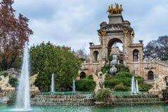 Cascada monumentaal Barcelona Royalty-vrije Stock Foto's