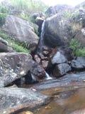 Cascada natural en el área de Badulla Imagen de archivo libre de regalías