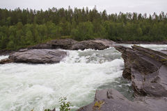 Cascada potente Imagenes de archivo