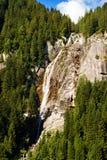 Cascada Regina del Lago - Adamello Trento Italia Fotos de archivo libres de regalías