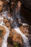 Cascada rocosa Fotografía de archivo libre de regalías