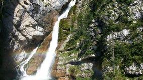 Cascada Savica imagen de archivo libre de regalías