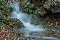 Cascada sedosa Imagen de archivo