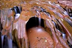 Cascada sedosa del desierto Imagenes de archivo