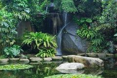 Cascada sedosa, Xiamen China imagen de archivo libre de regalías