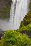 Cascada - SKogafoss - Islandia Fotos de archivo