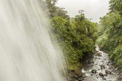 Cascada tropical Foto de archivo libre de regalías
