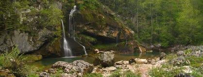Cascada Virje Foto de archivo libre de regalías